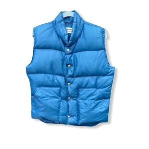 Vintage Weather Watcher Down Vest